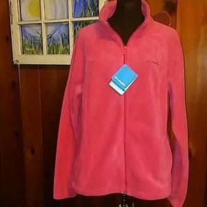 NWT Columbia, women's fleece zipup